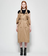Junya Watanabe Cotton Nylon Twill Dress