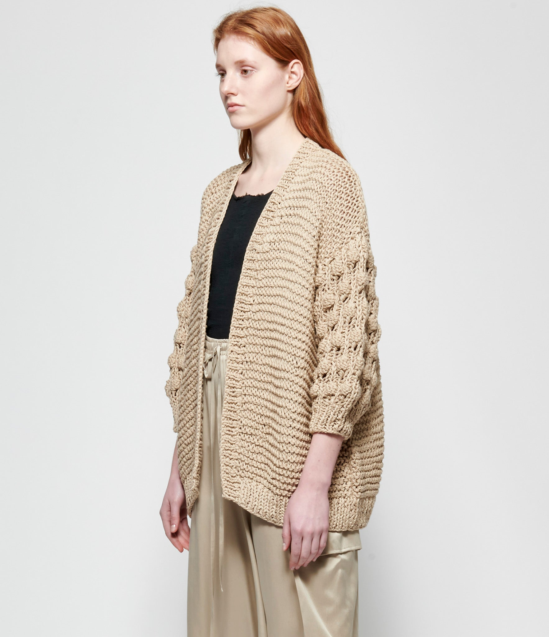 Replika Natural Hand Knit Cardigan