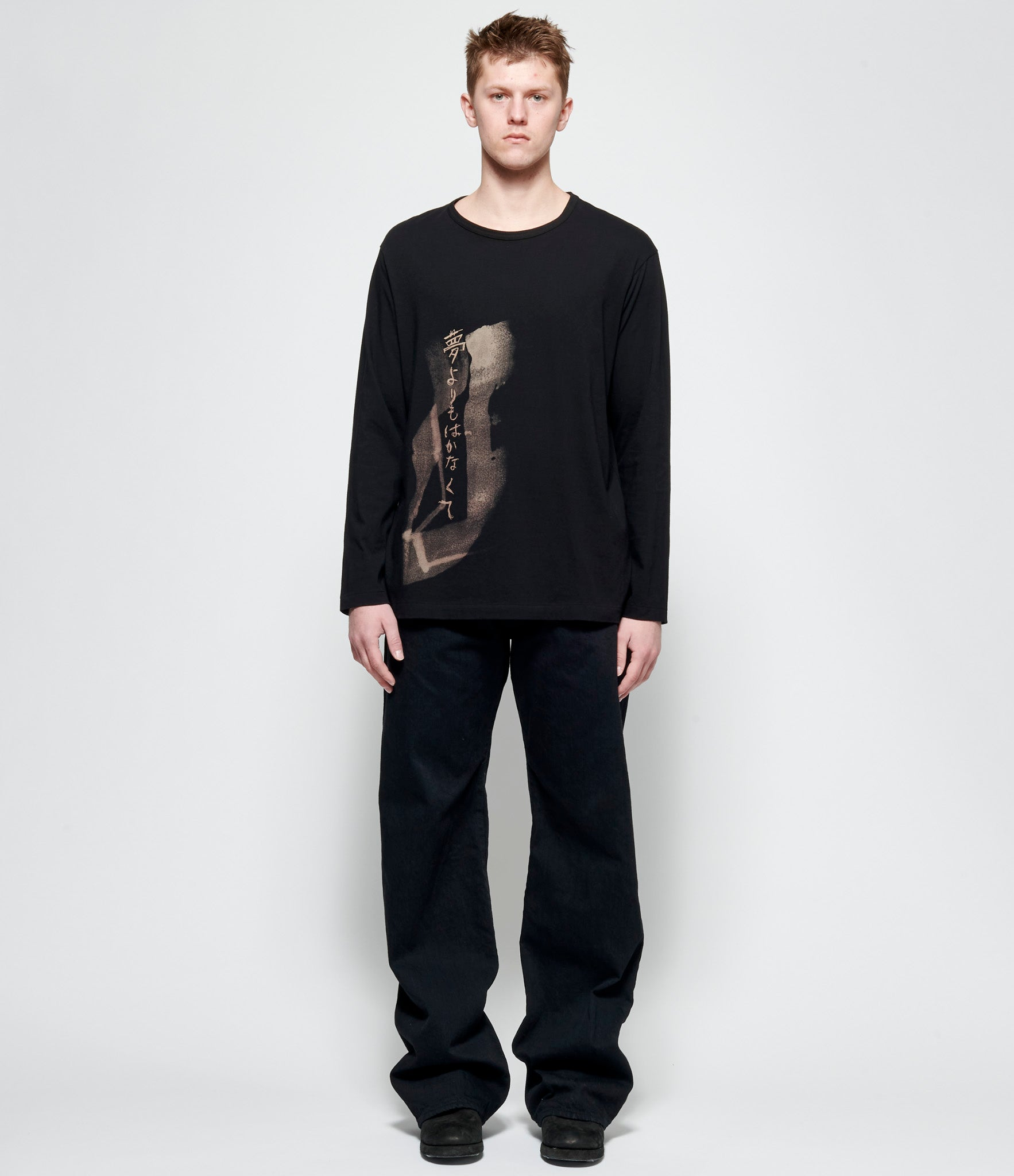 Yohji Yamamoto Pour Homme More Than Dream PT RN Long Sleeve T-Shirt