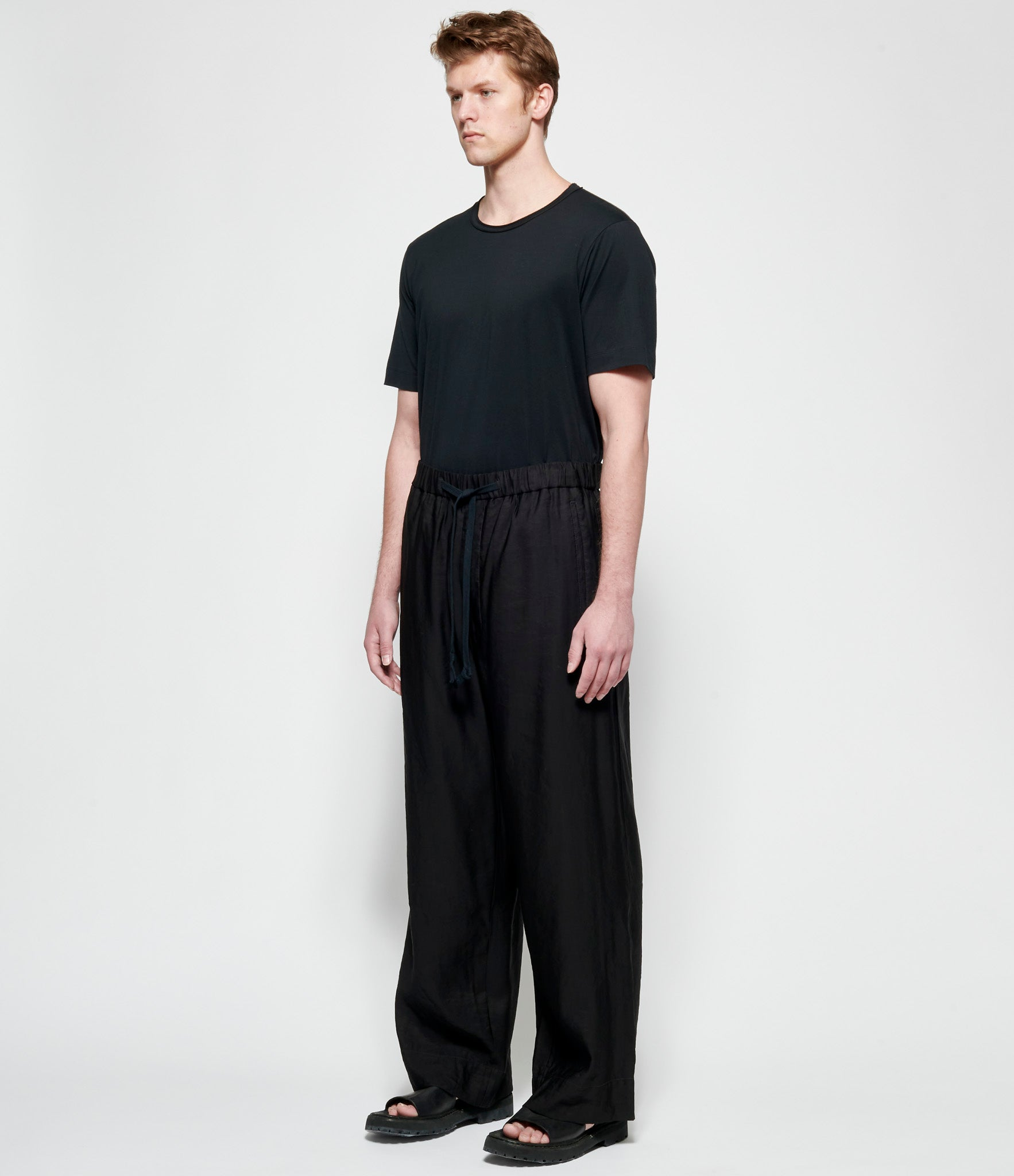 Ziggy Chen Rayon Viscose Relaxed Fit Pants