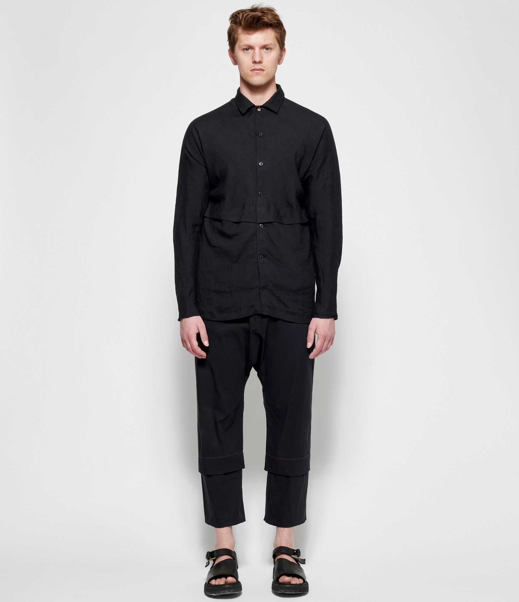 m.a+ Deep Pocket Wide Fit Shirt