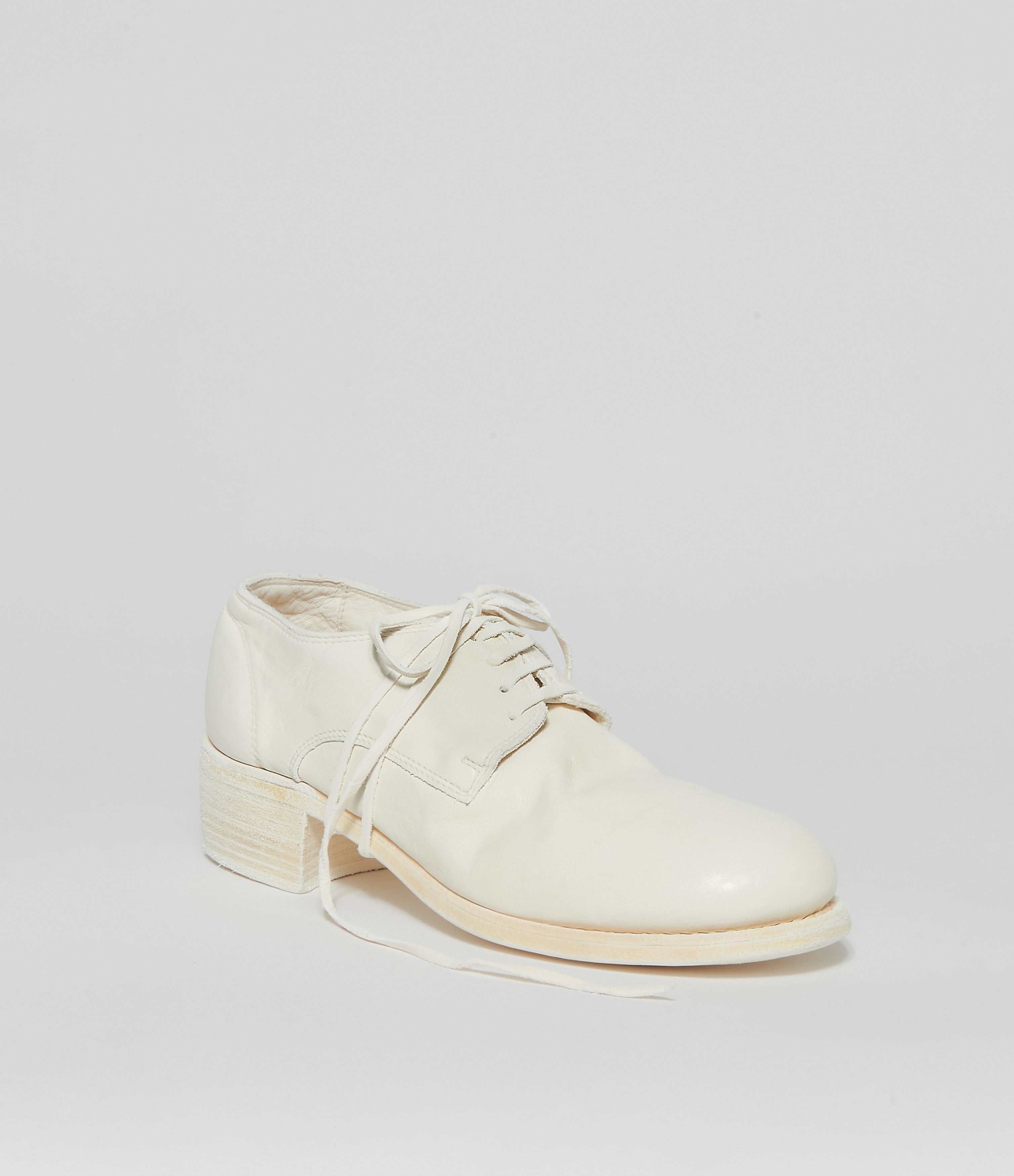 Guidi 792 White Soft Horse Full Grain Derby
