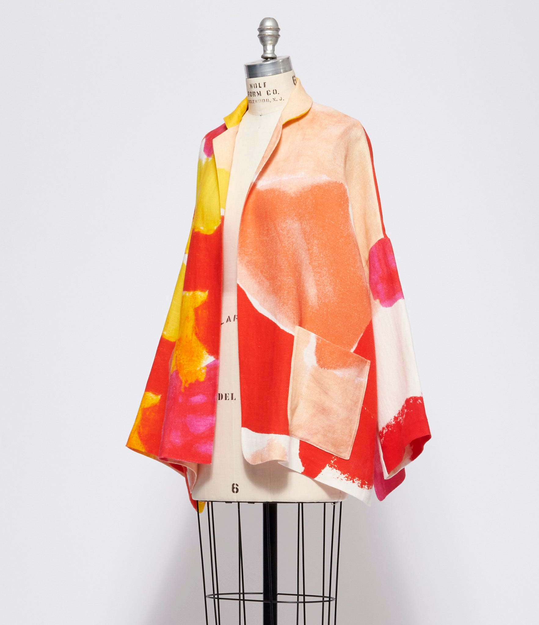 Daniela Gregis Gladiolo Sole Drawing Jacket