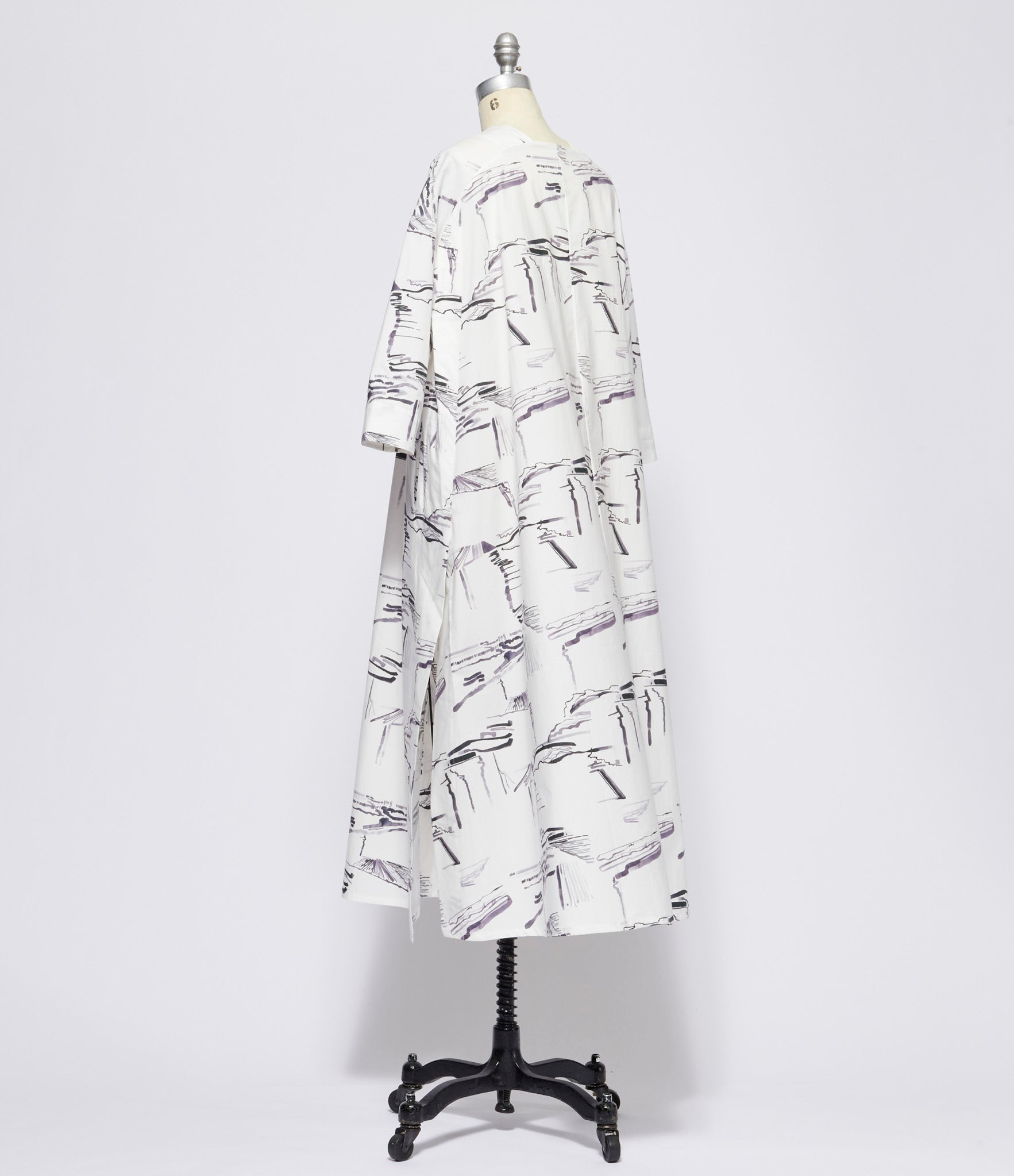 toogood Ploughed Fields Printed Cotton Poplin Astrologer Dress