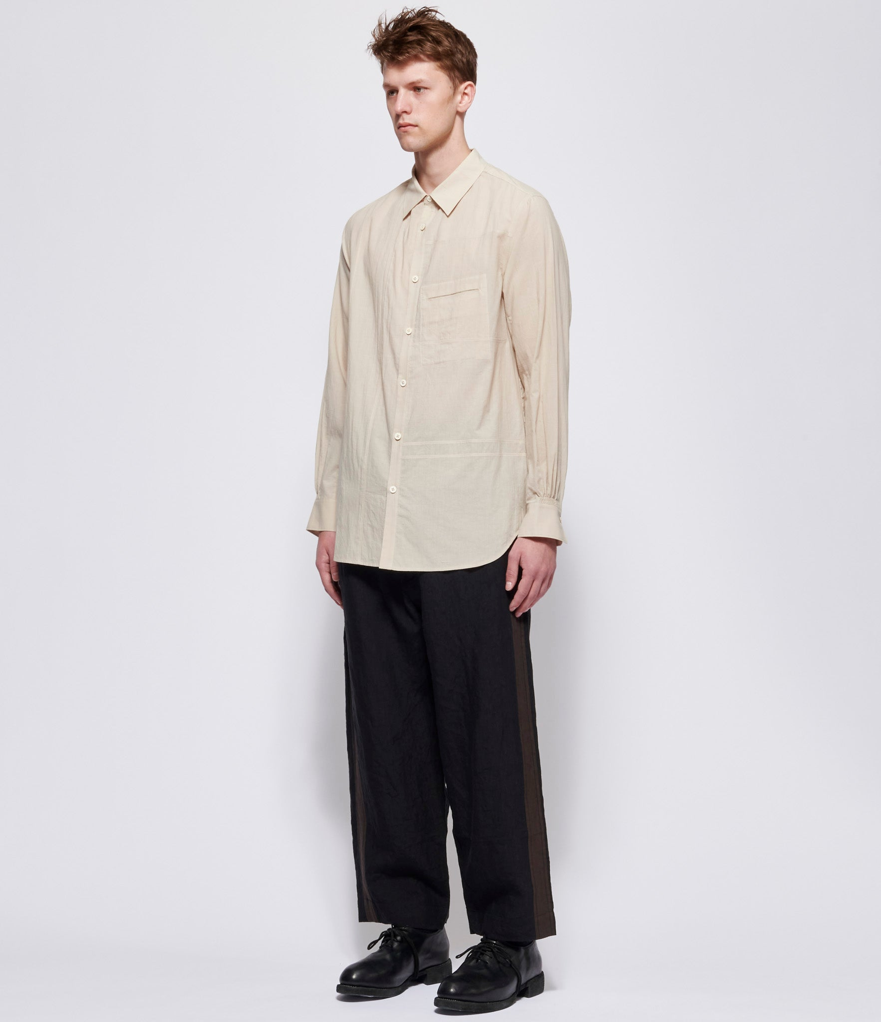 Ziggy Chen Separated Front Panel Shirt