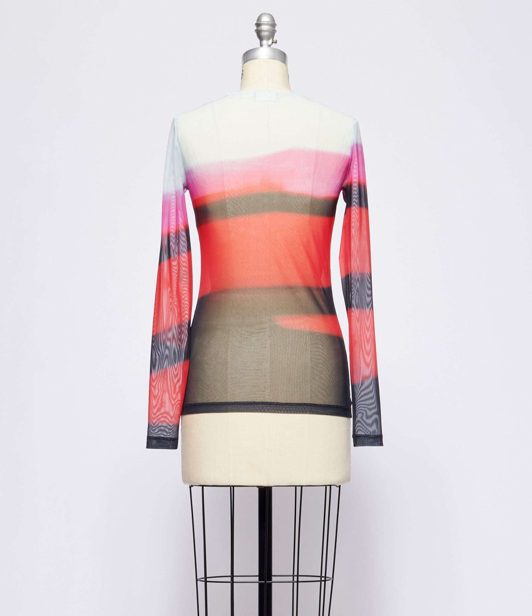 Dries Van Noten Haste Mesh Top