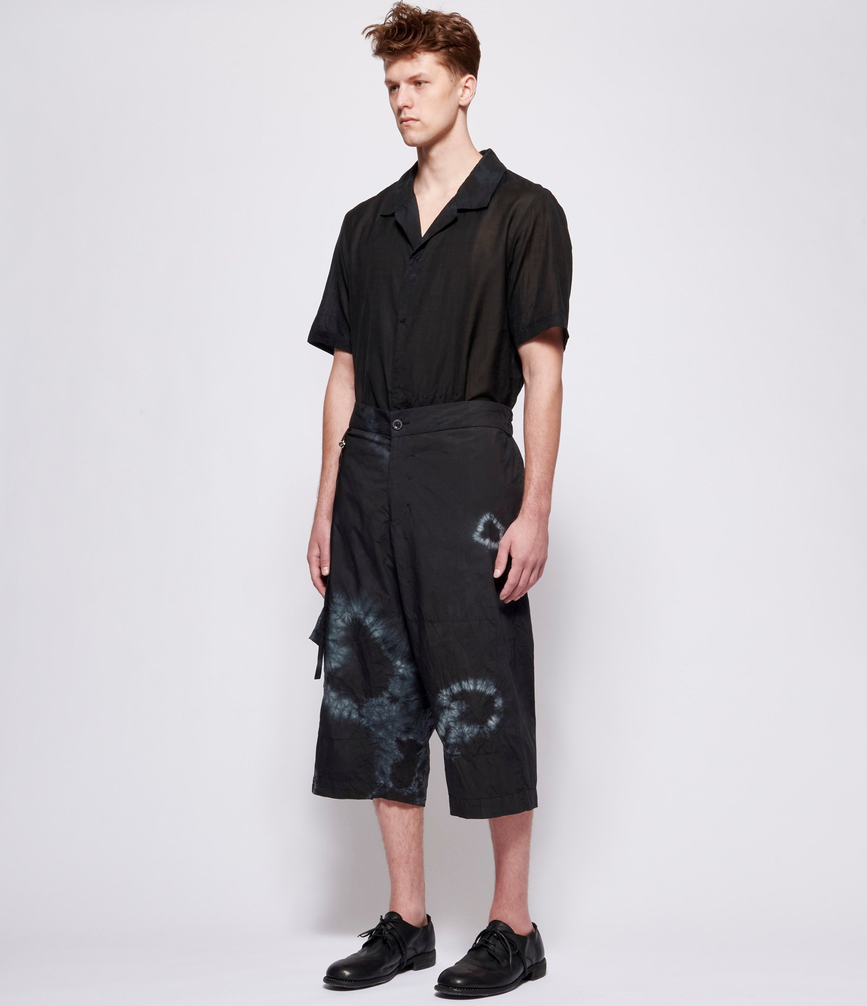 Atelier Suppan Lightweight Short with Detachable Bag Pocket
