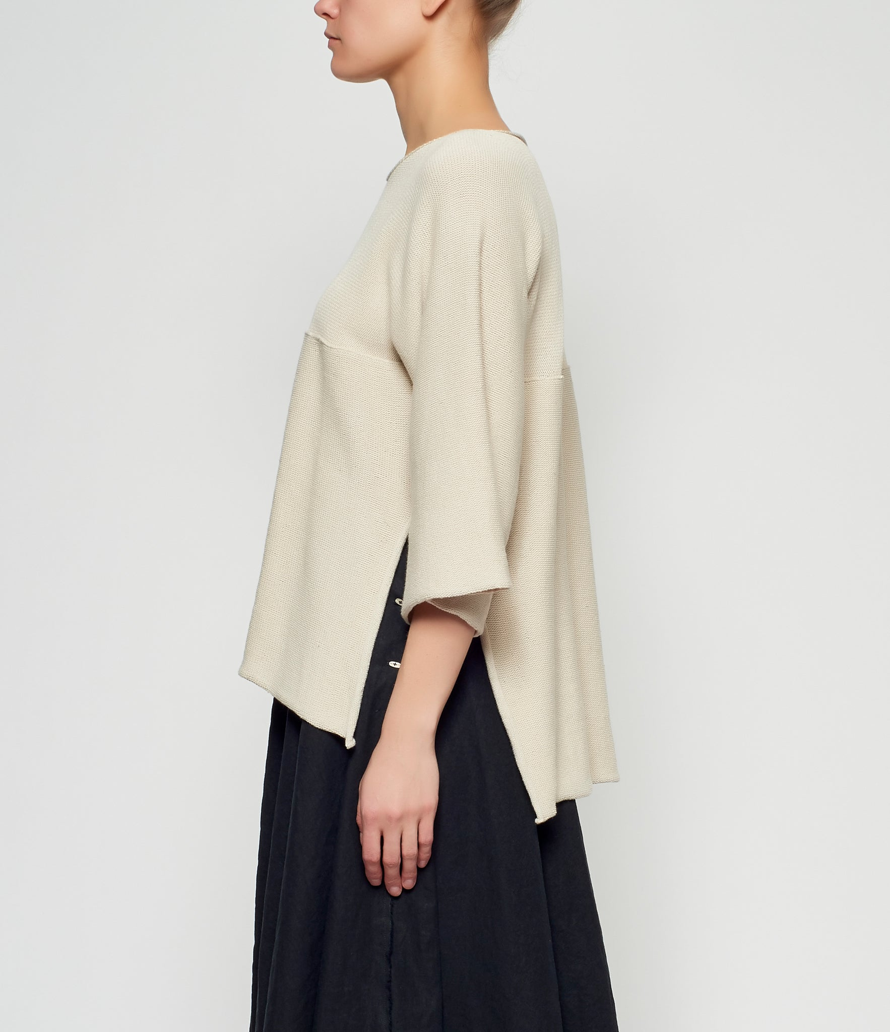 m.a+ Open Side Oversized Pullover