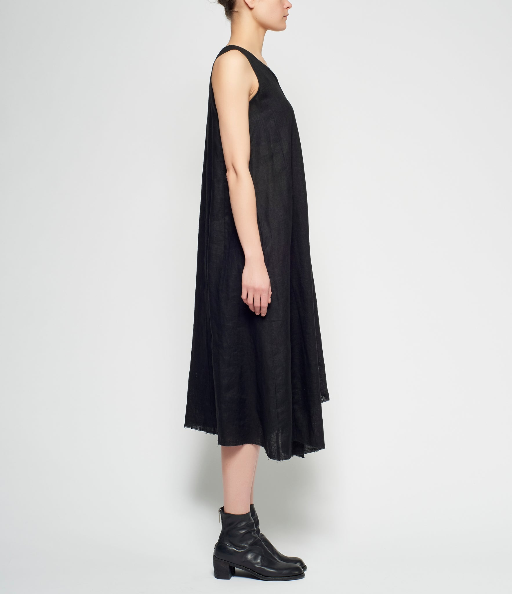 Replika Linen Bell Dress
