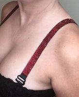 Bra Strap SOLID Print  (Adjustable)