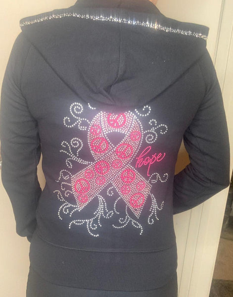 M8001 Cancer (BIG BIG Ribbon) Hoodie