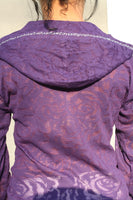 M8703  BURN-OUT HOODIE (Burn-Out Fabric)