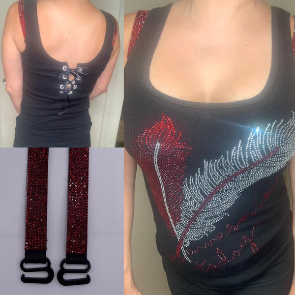 NEW  Red Feather Open-Back TANK