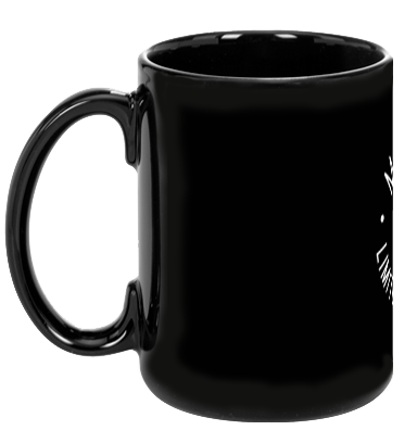Mutts Are Limited Edition Black Mug