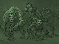 Sci/Fi Fantasy Ogre Group