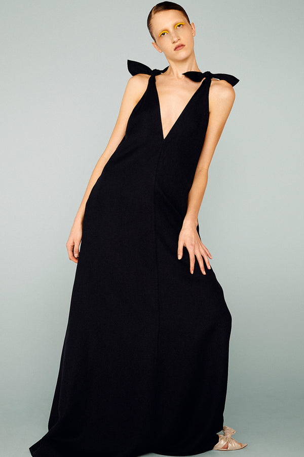 Long Dress with Straps