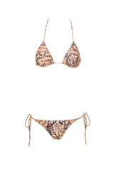 Embroidered Thai Triangle Bikini