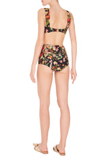 Fruits Exotiques Hot Pants Bikini with Frills