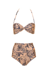 Twisted Top Hot Pants Bikini