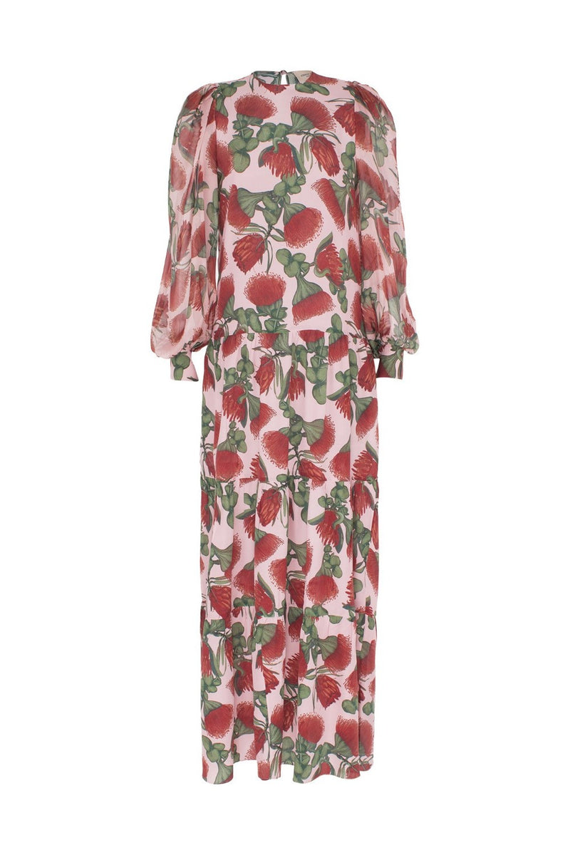 We love this long dress in the summer with sandals and a beach bag or in the winter with leather boots and shoulder bag