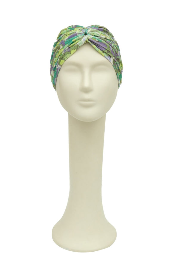 Flower Bloom Turban