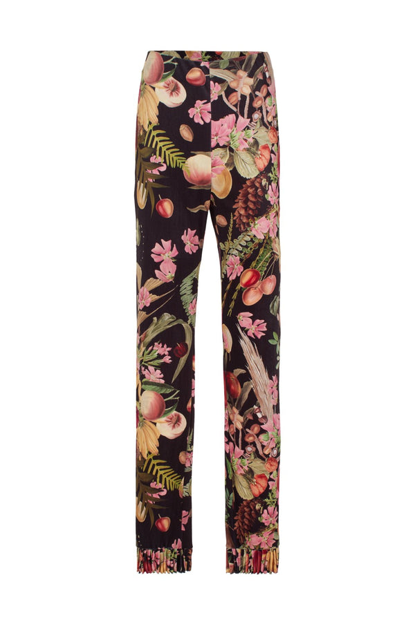 Cut from plush velvet, these Exotic Fruits pants are tailored in a loose shape that's flattering and easy to wear