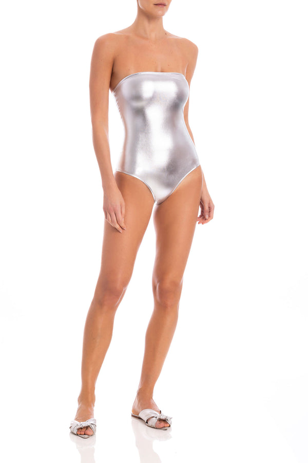 Nautilus Strapless Swimsuit