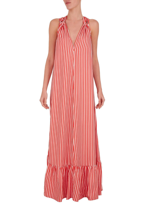 This maxi dress is the perfect edition to any beach edit, and makes and makes for the ideal swim cover-up