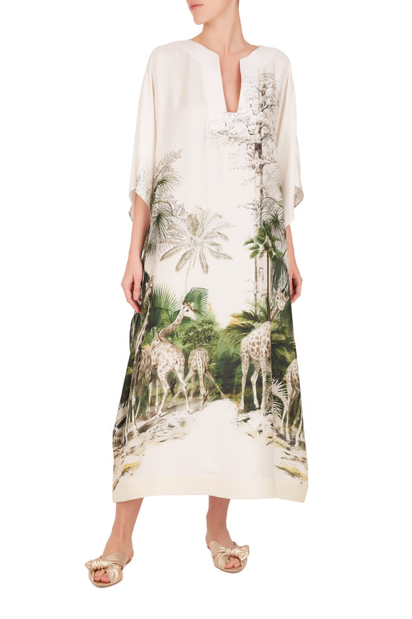 Safari Long Kaftan
