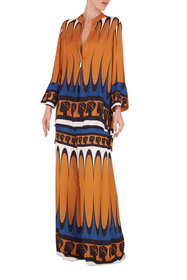 This La Africana short tunic is perfect for resort vacations