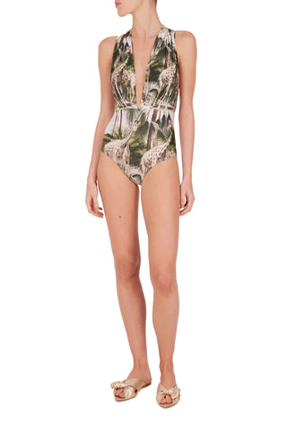 Safari Halterneck Swimsuit