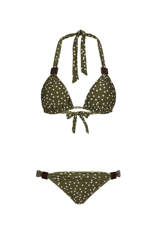 Mille Punti Long Triangle Bikini