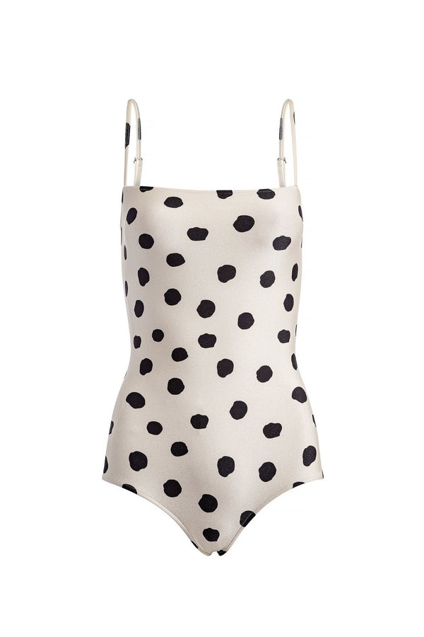 Pois Basic Swimsuit With Straps