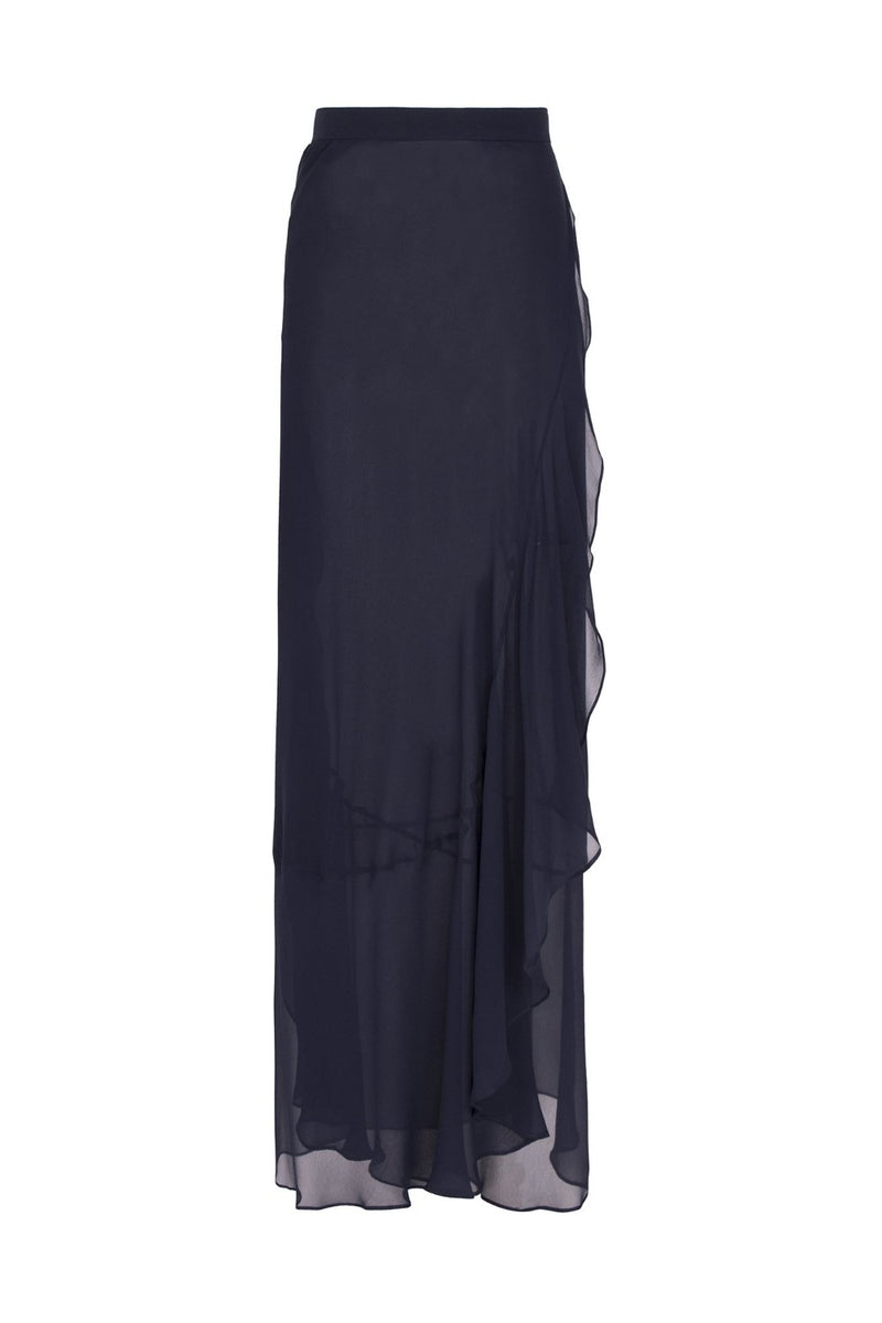 This pareo skirt ties at side and you easily slip it on and off poolside