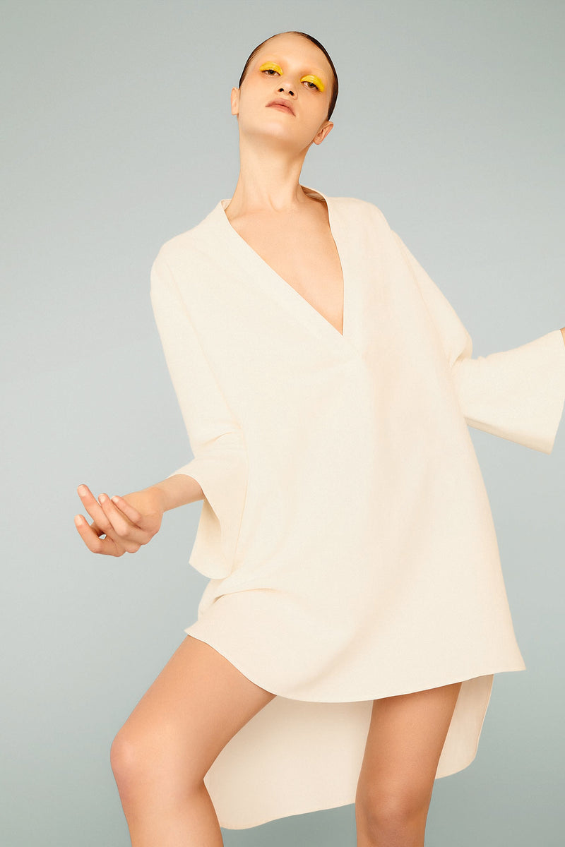 Riviera Short Tunic with Long Sleeve