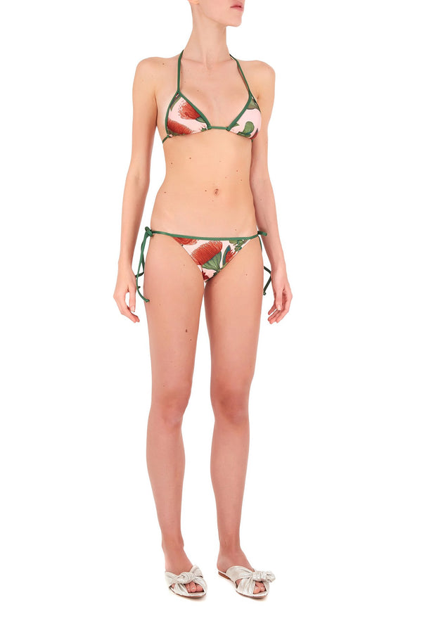Fiore Triangle Bikini with Side Ties