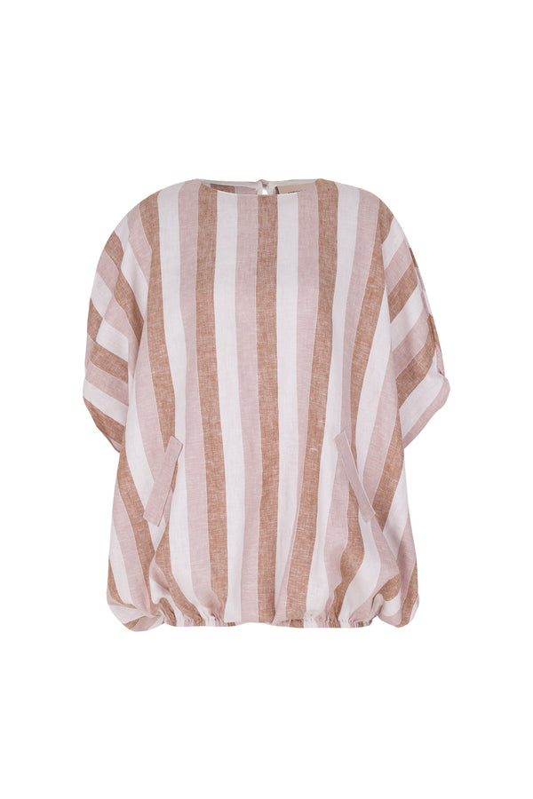 Porto Striped Oversized Playsuit