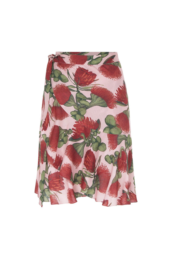 Fiore Short Skirt with Ruffles