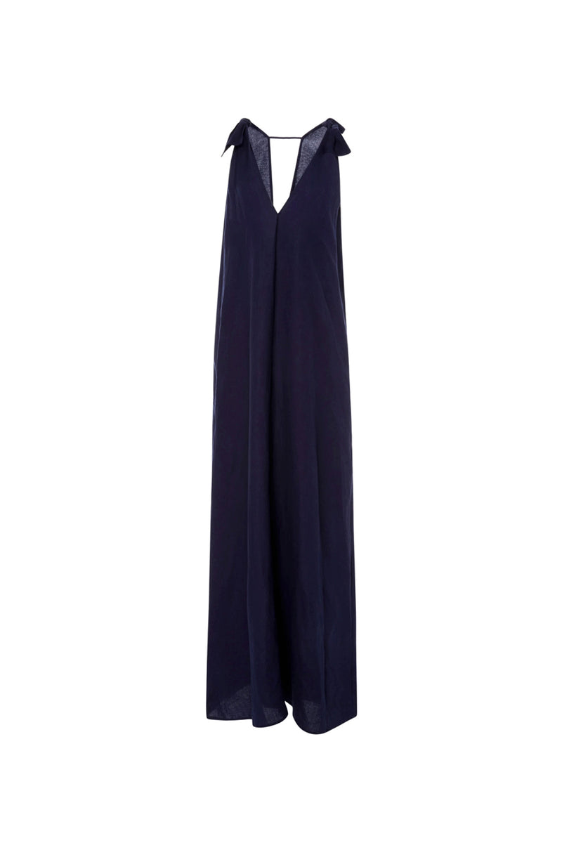 Riviera Long Dress with Straps