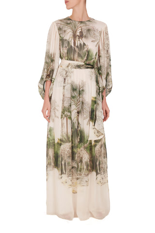 Safari Long Sleeved Dress