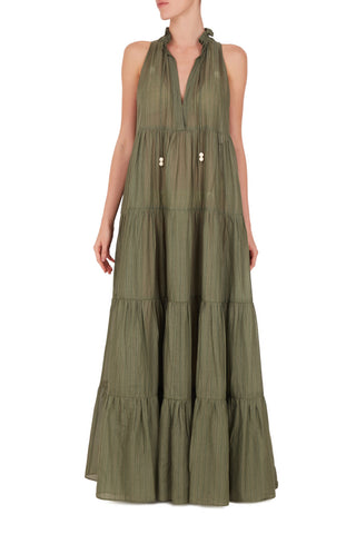Masque Maxi Long Dress