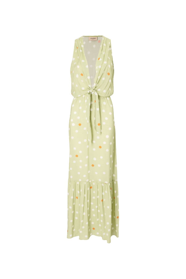 This dress is designed for day-to-night wear- we love it with flat sandals