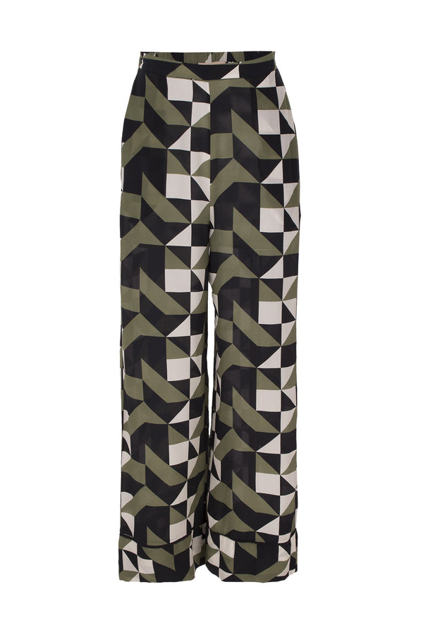 Geometrique Pajama Pants