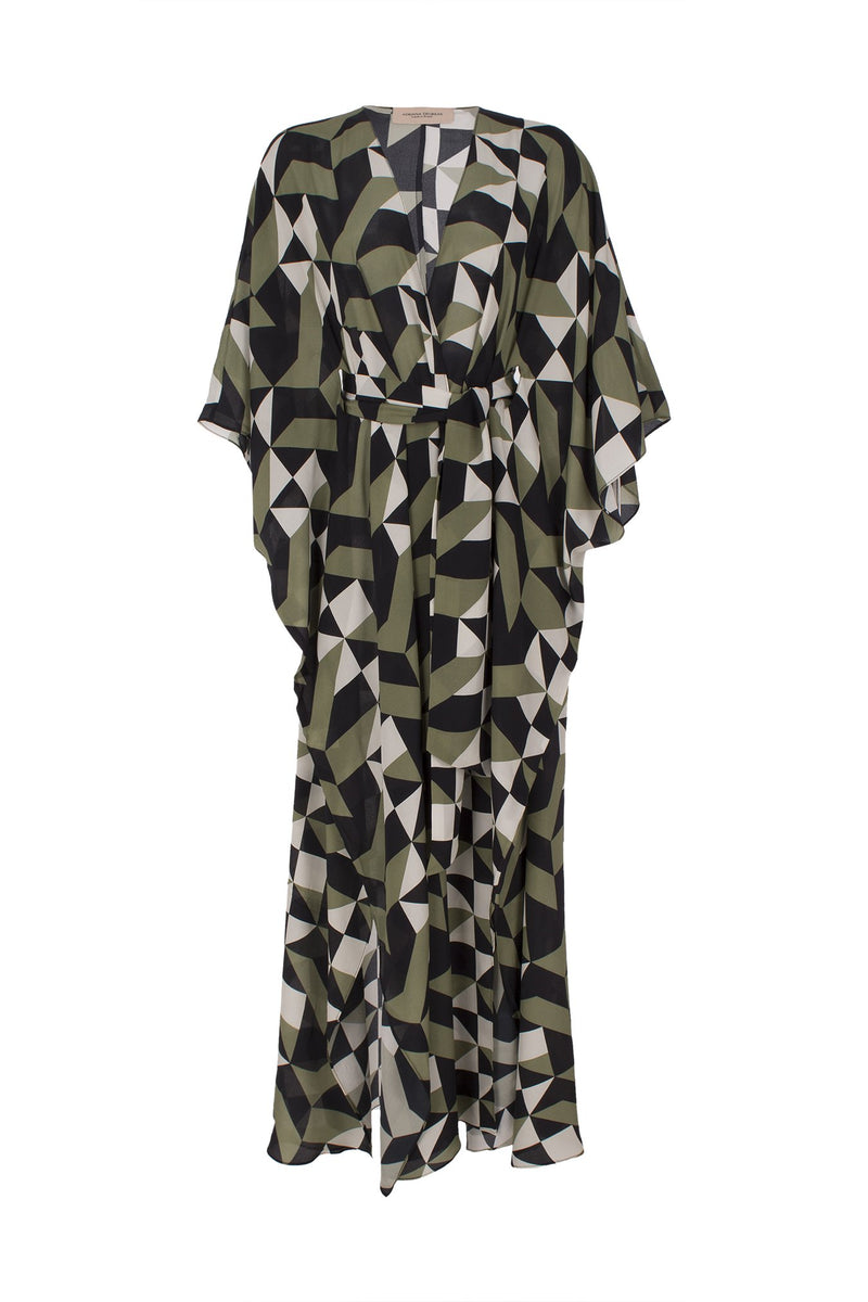 Geometrique Long Robe