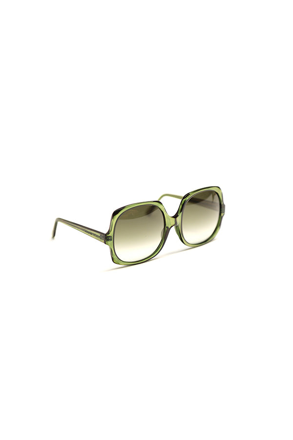 Oversized Sunglasses Green