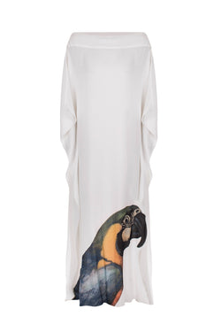 Birds Arara Long Kaftan