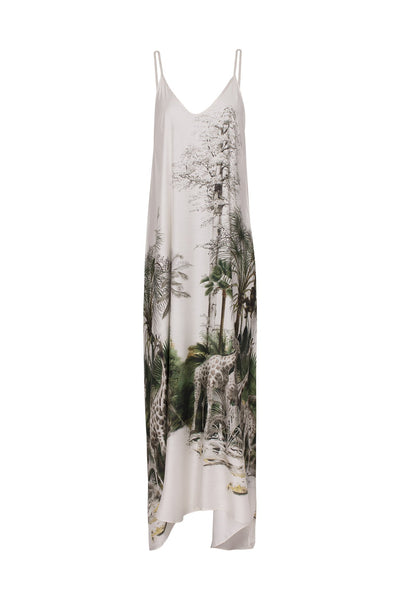 Safari Long Dress