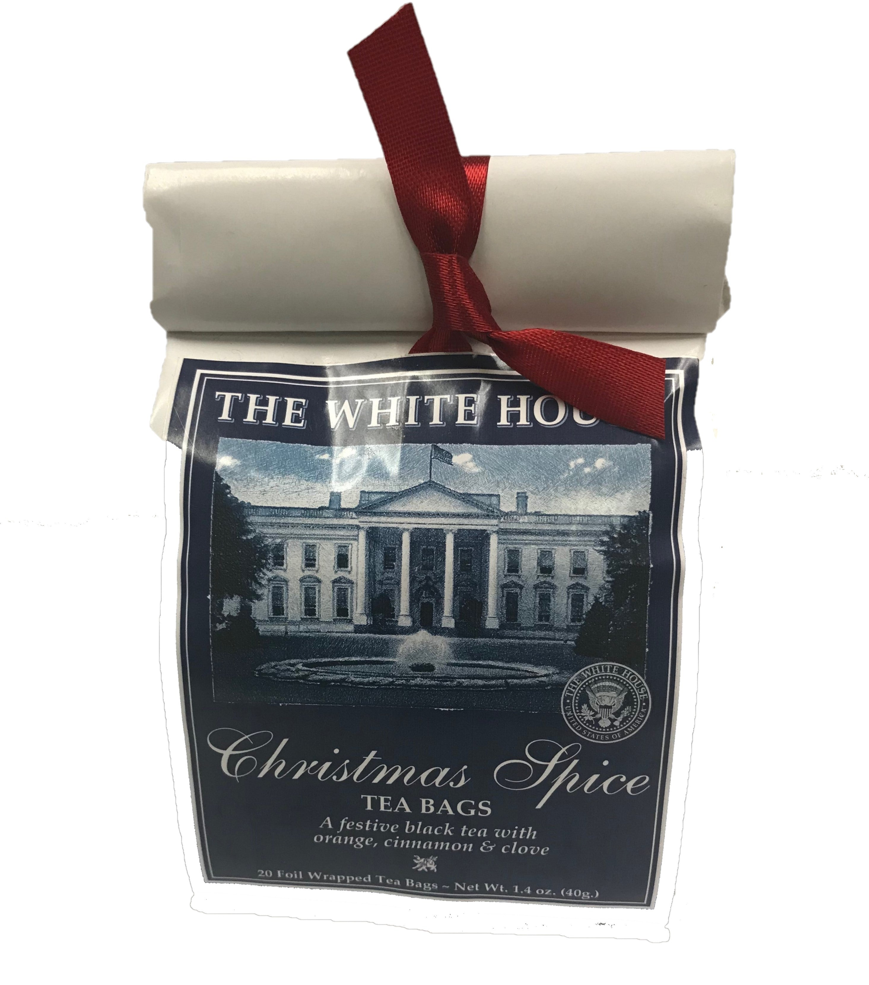 The White House Christmas Spice Tea Bags - White House Gifts