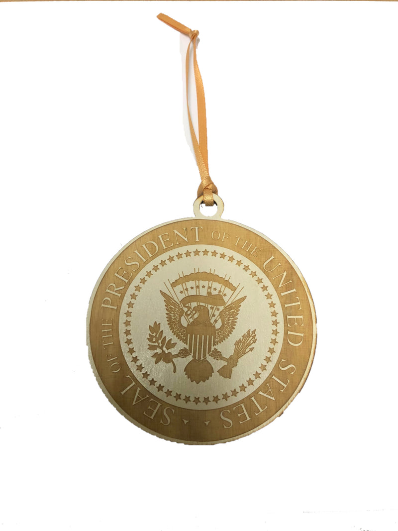 Presidential Seal Wood Ornament