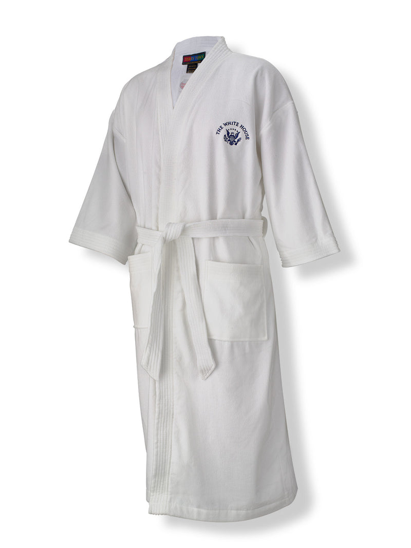 Adult Embroidered Robe